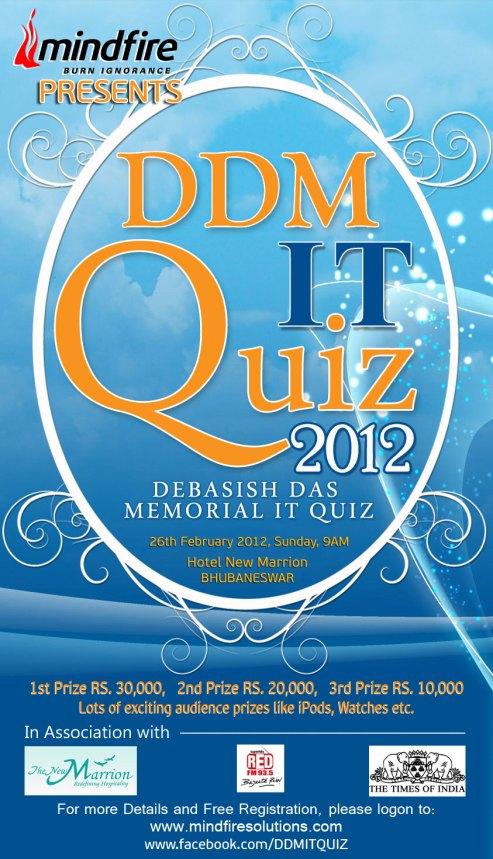 DDM IT QUIZ 2012