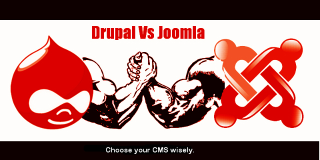 Drupal Vs joomla - Which CMS should I choose?