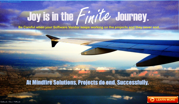Joy is in the Finite Journey.
