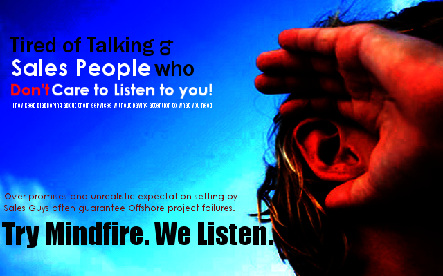 At Mindfire, We Listen.