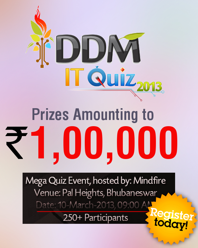 DDM IT Quiz 2013