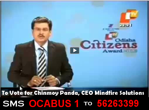 Vote for Chinmoy Panda, CEO Mindfire Solutions