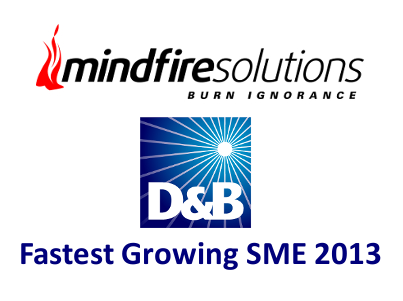Mindfire Solutions Wins D&B Fastest Growing SME 2013 Award